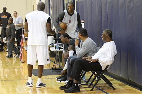 Sneaker Watch: Michael Jordan Practices With Bobcats In The Air Jordan 2011