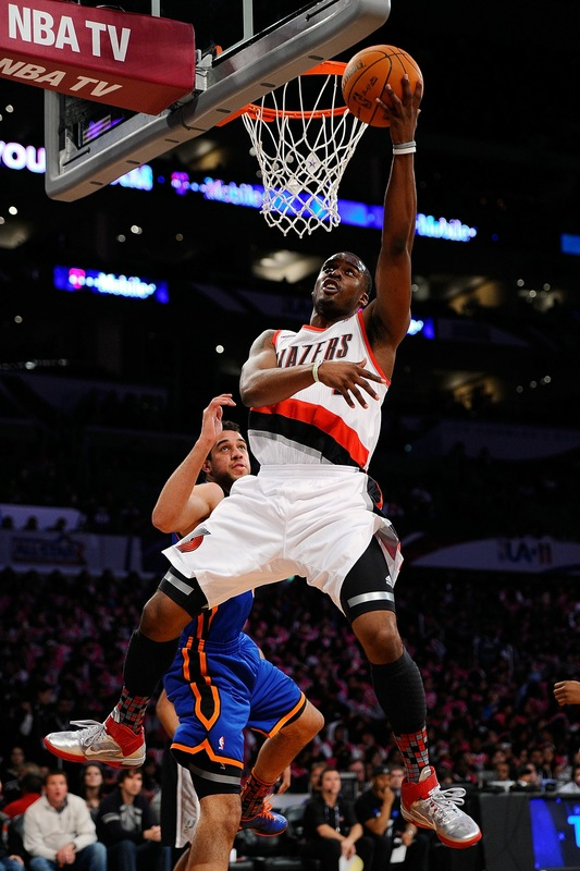 Wesley Matthews wearing the Nike Air Max Fly By