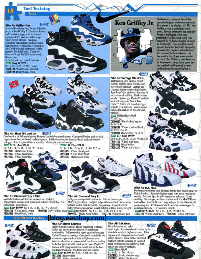 nike 1996 releases