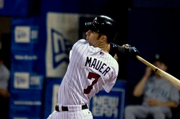 Joe Mauer of the Minnesota Twins