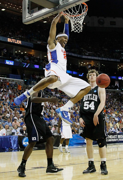 Alex Tyus of Florida in the Nike Air Max Fly By.
