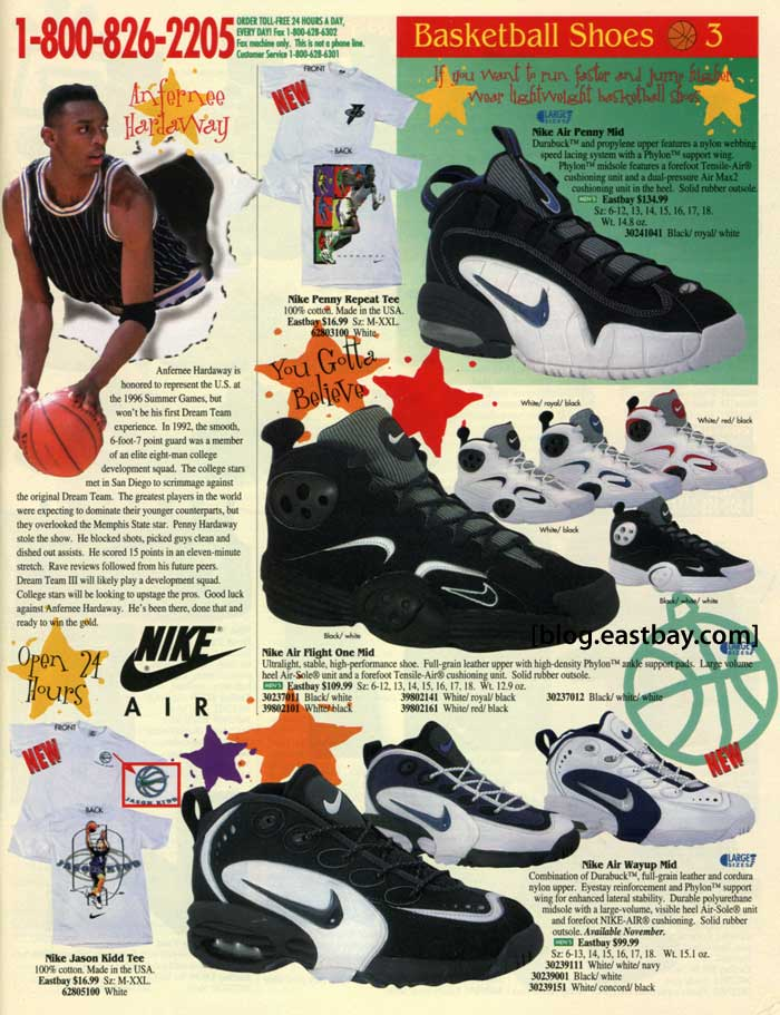 Eastbay Memory Lane: Nike Air Flight One/Nike Air Penny