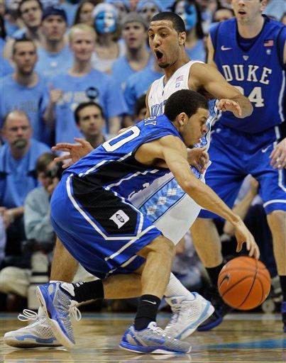 Seth Curry of Duke wearing the Nike Zoom Kobe VI.
