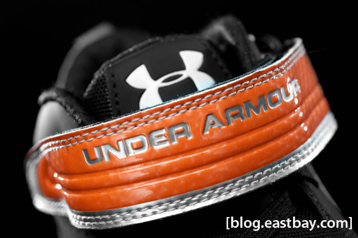 Under Armour Fierce III Mid D Black Orange 1215496-081