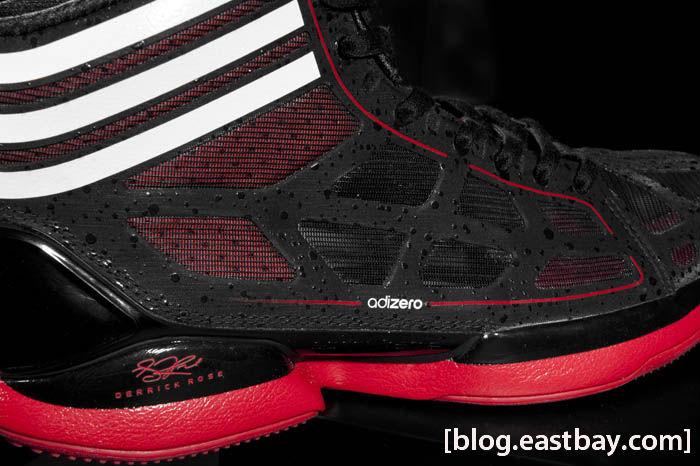 adidas Crazy Light Black White Red Derrick Rose G22389