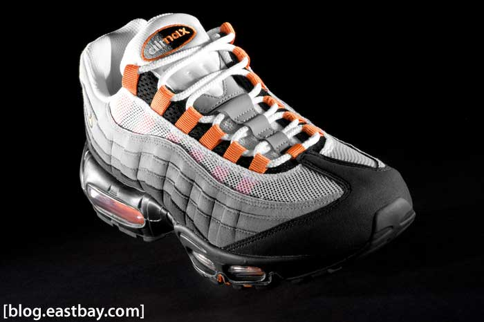 Nike Air Max 95 Bright Mandarin (Orange) Detailed Photos