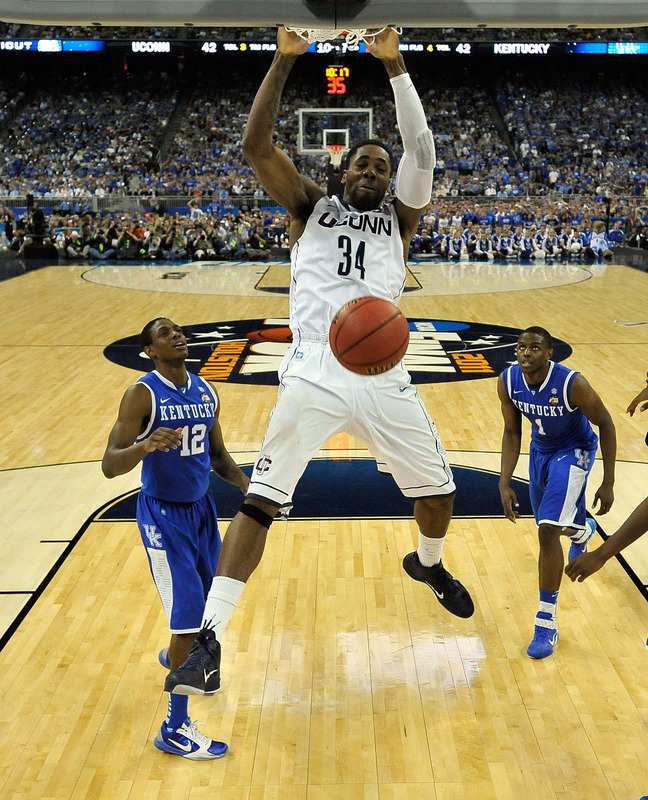 UCONN's Alex Oriakhi has been a rebounding machine in the Nike Zoom Hyperfuse.