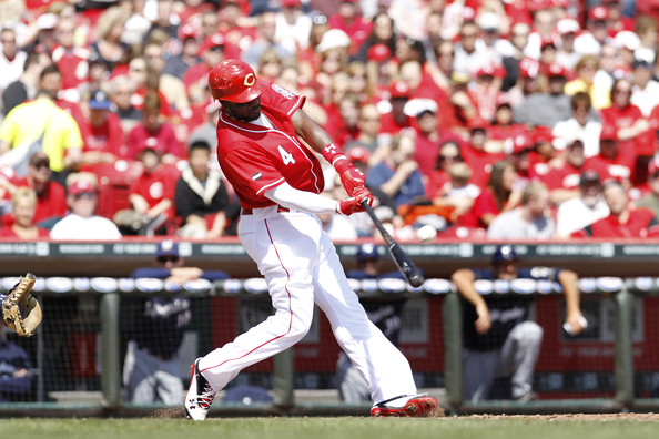 Brandon Phillips has led the Reds to a 4-0 start in his PE's from Under Armour.