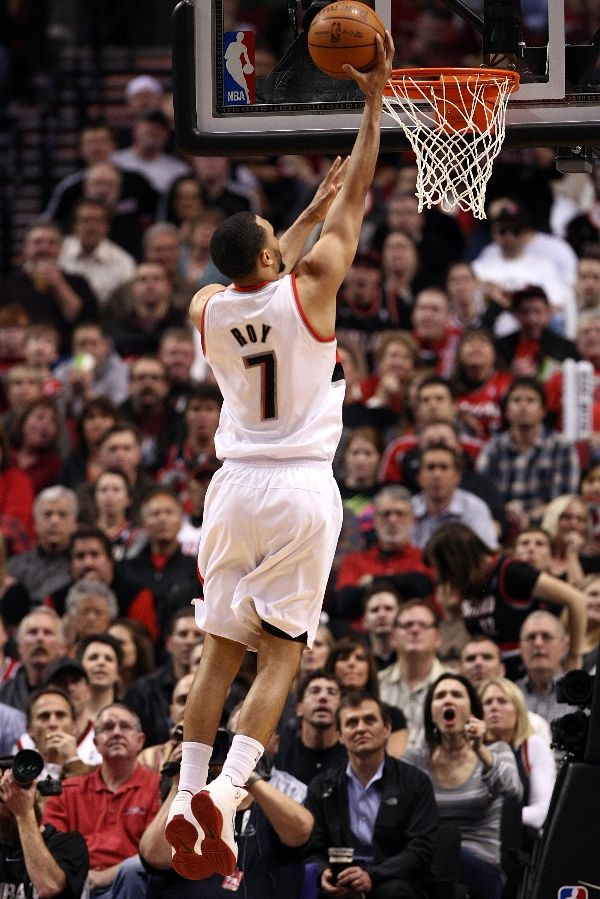 Brandon Roy wearing the Nike Zoom Hyperfuse