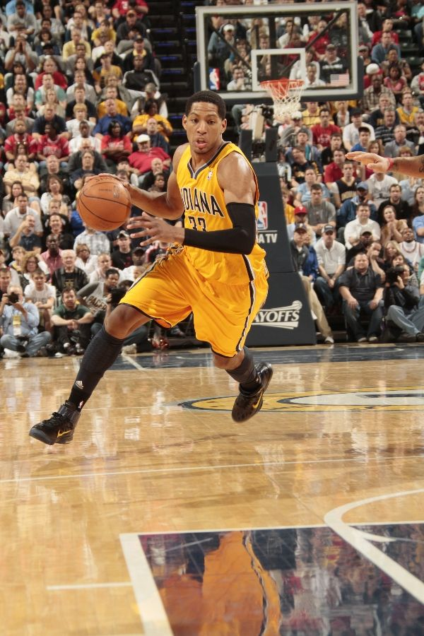 Danny Granger wearing the Nike Air Max Fly By