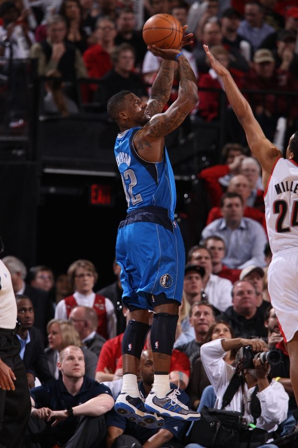 DeShawn Stevenson wearing the adidas adiPure Low