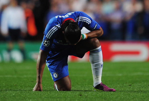 Didier Drogba of Chelsea in the Nike Superfly III.