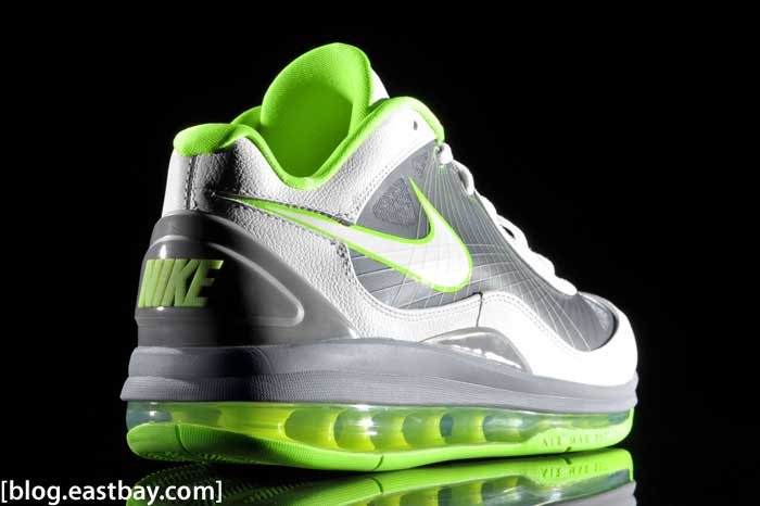 86d6fe00f9 Nike Air Max 360 BB Low Cool Grey/Electric Green | Eastbay Blog ...