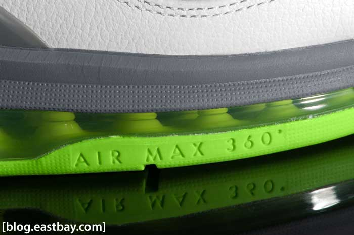 Nike Air Max 360 BB Low Cool Grey/Electric Green