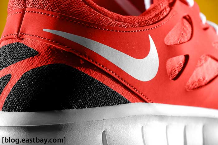 "Nike Free Run+ 2 ""Challenge Red"" Detailed Images"