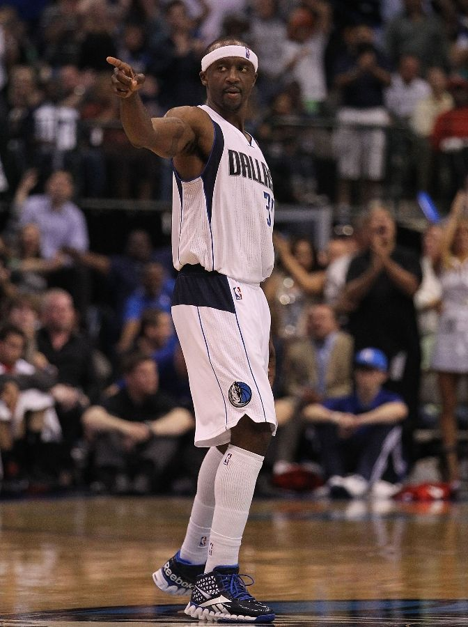 Jason Terry in the Reebok Zig Slash.