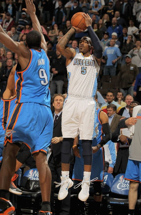 JR Smith wearing the Nike Hyperdunk 2010