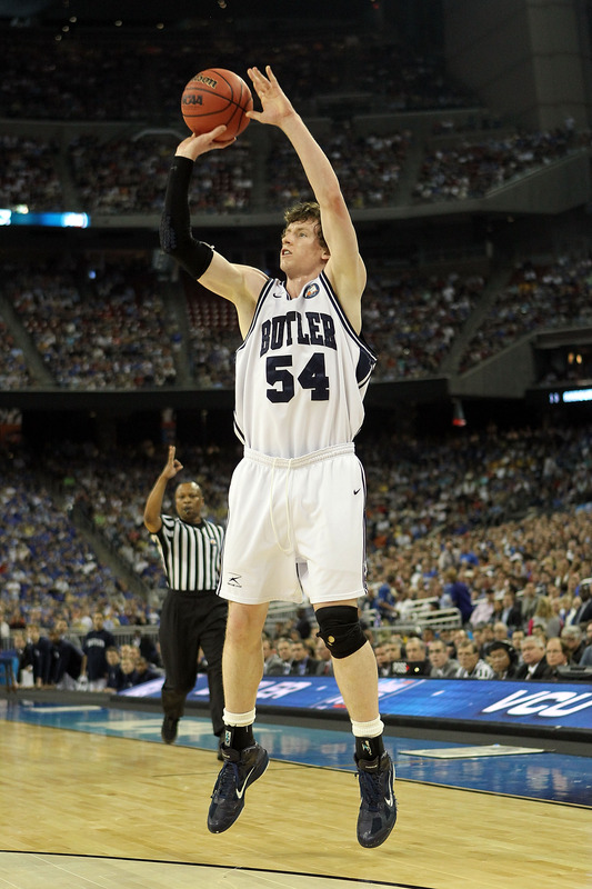 Matt Howard in the Zoom Hyperfuse. Howard has been the perfect example of Butler basketball.