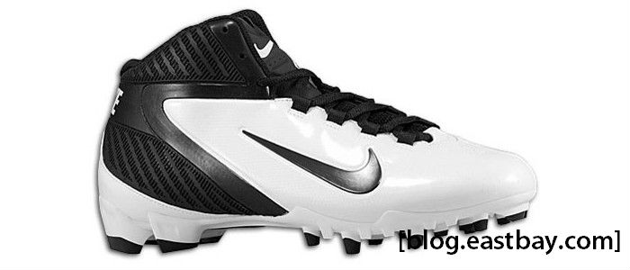 Nike Alpha Speed TD 3/4 Black Black White