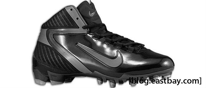 Nike Alpha Speed TD 3/4 Black Tornado Metallic Silver