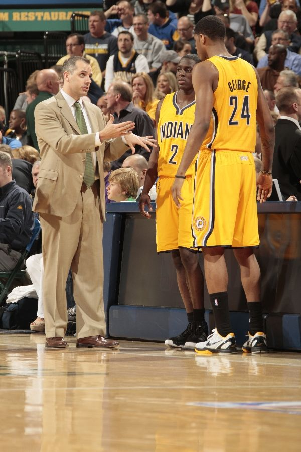 Paul George wearing Nike Zoom Kobe VI POP