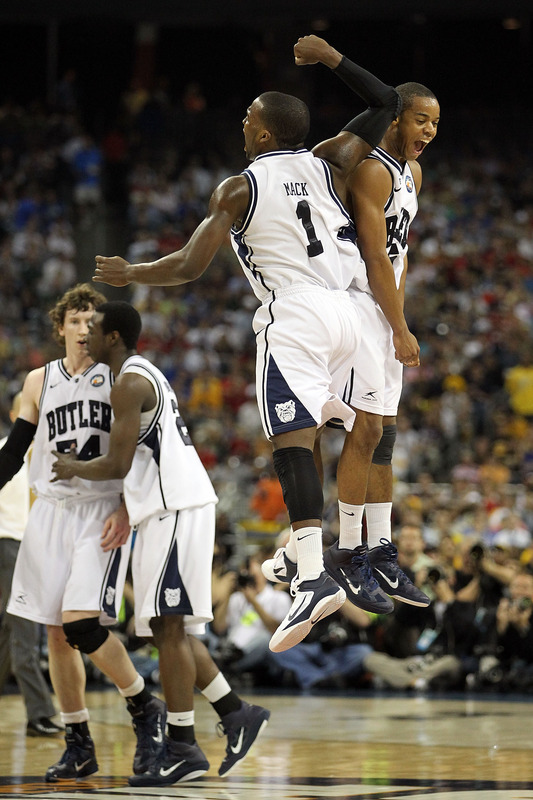 Shelvin Mack has carried the Bulldogs through the tournament in the Zoom Hyperfuse.
