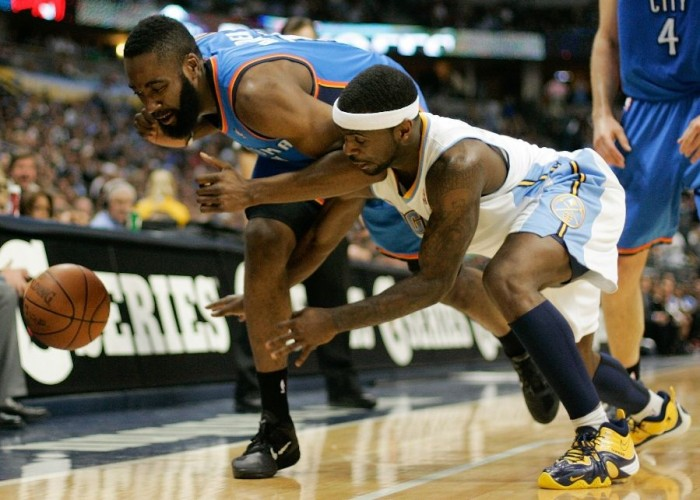 Ty Lawson led the Nuggets to a win wearing the Nike Zoom Flight Five iD.