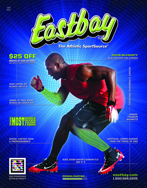 Devin McCourty's Eastbay Cover