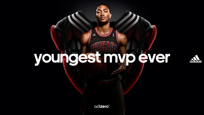 Wallpaper: Derrick Rose NBA's Youngest MVP