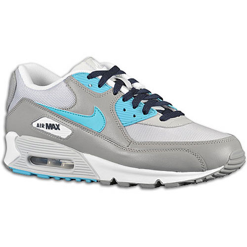nike shox certifié af - Nike Air Max 90 Medium Grey Mineral Blue