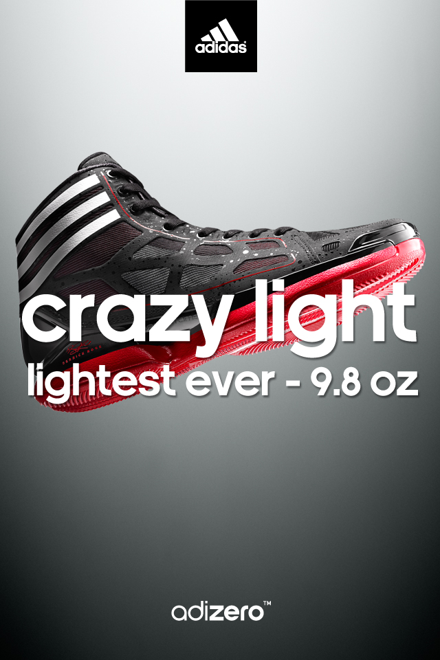 12b28e39b3f5 adidas adiZero Crazy Light - Derrick Rose Wallpaper 640 x 960
