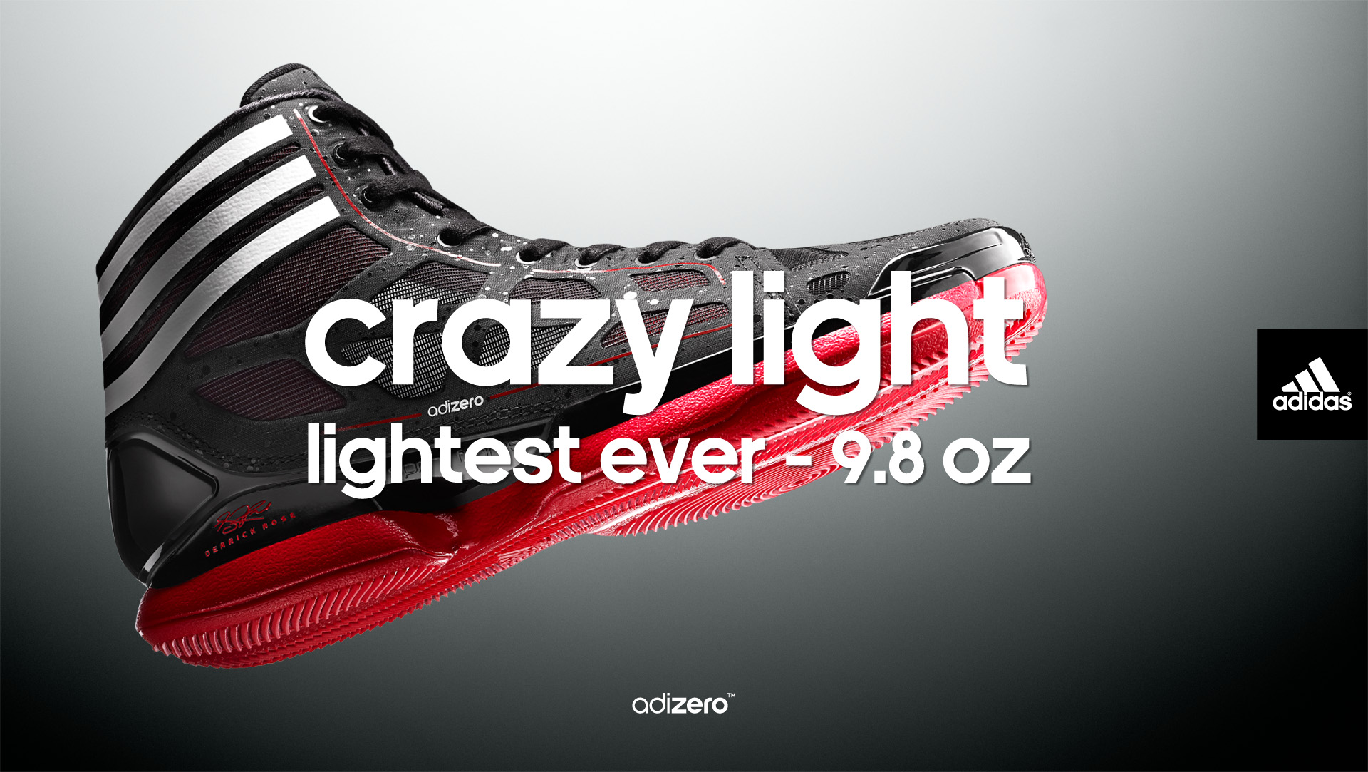best website 69152 da93c Available now  adidas adiZero Crazy Light