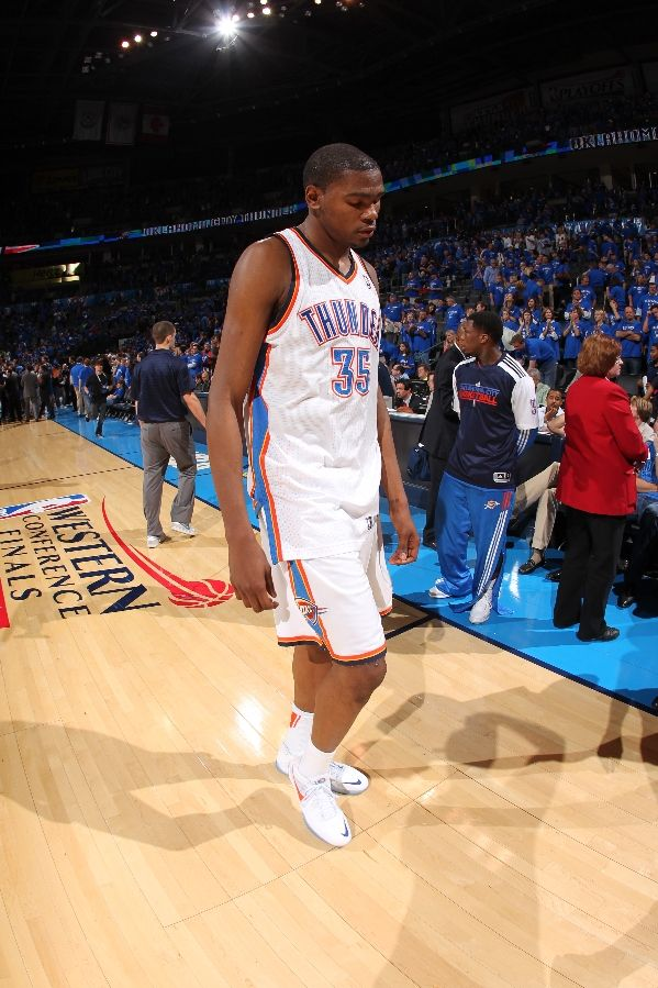 A tough loss for Kevin Durant and the Thunder.