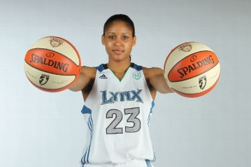 Maya Moore becomes first female athlete to sign with Jordan Brand.
