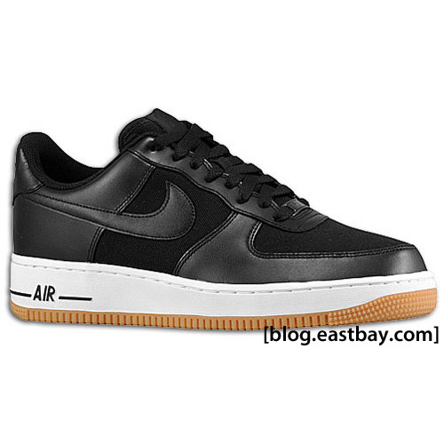 Nike Air Force 1 - New Colorways Black/White/Gum