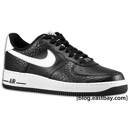 Nike Air Force 1 - New Colorways Black Croc-Skin