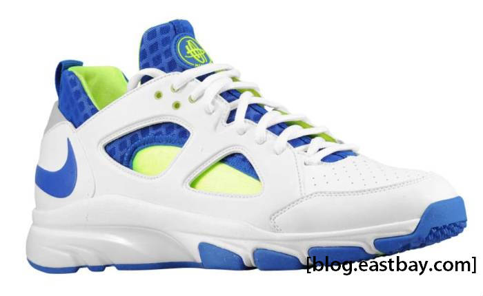 93993409676e6 Nike Zoom Huarache Trainer Low - White Royal-Volt
