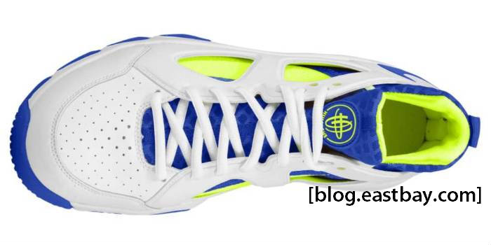 abedaeb87c9cf Nike Zoom Huarache Trainer Low White Varsity Royal Volt 442243-147
