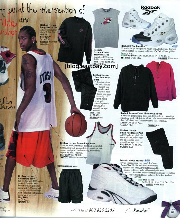 Reebok Basketball 1998 Eastbay Memory Lane - 2