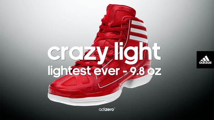 adidas adiZero Crazy Light Wallpaper Red/White 1920 x 1083