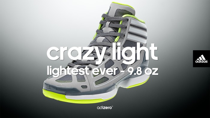 adidas adiZero Crazy Light Wallpaper Lead Grey/Electricity 1920 x 1083