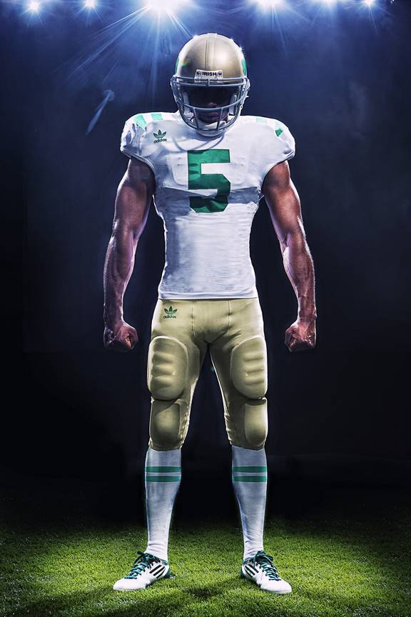 "adidas Unveils Notre Dame ""Under The Lights"" Game Uniforms"