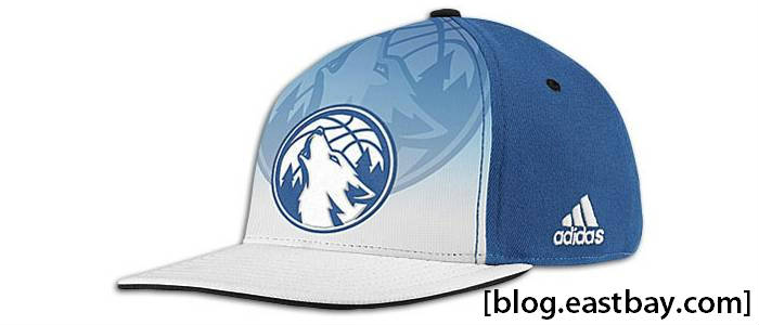 adidas 2011 NBA Draft Hat - Timberwolves