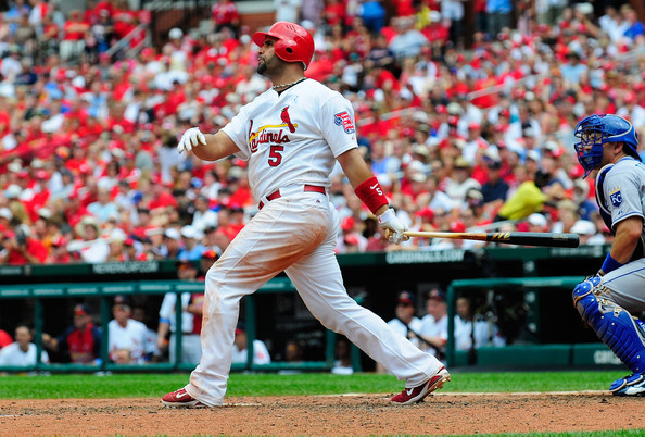 Albert Pujols knocked out one last homer this week before a forearm fracture put him on the DL.