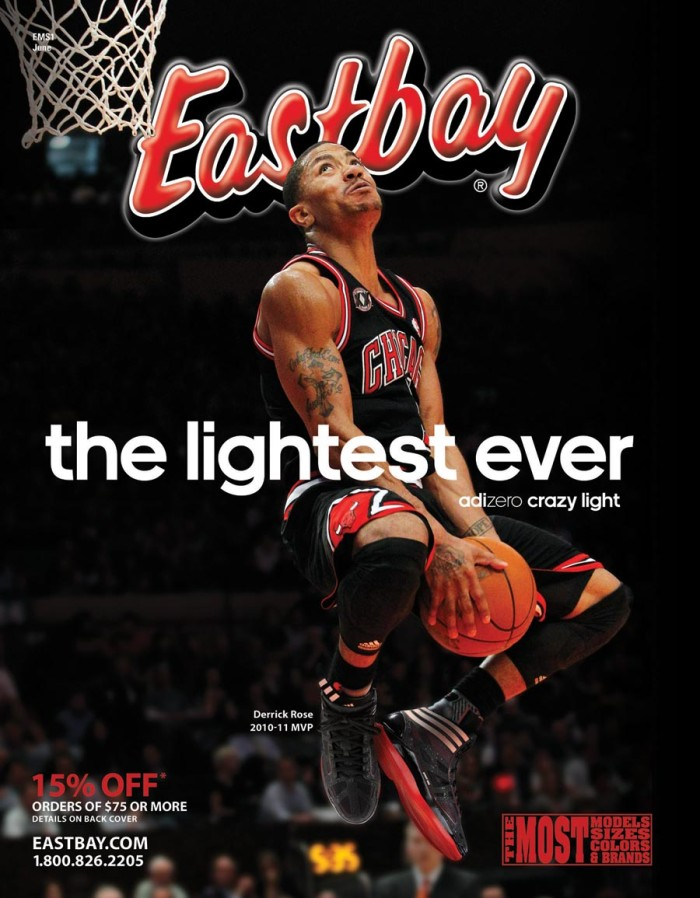 Derrick Rose Eastbay Cover Preview
