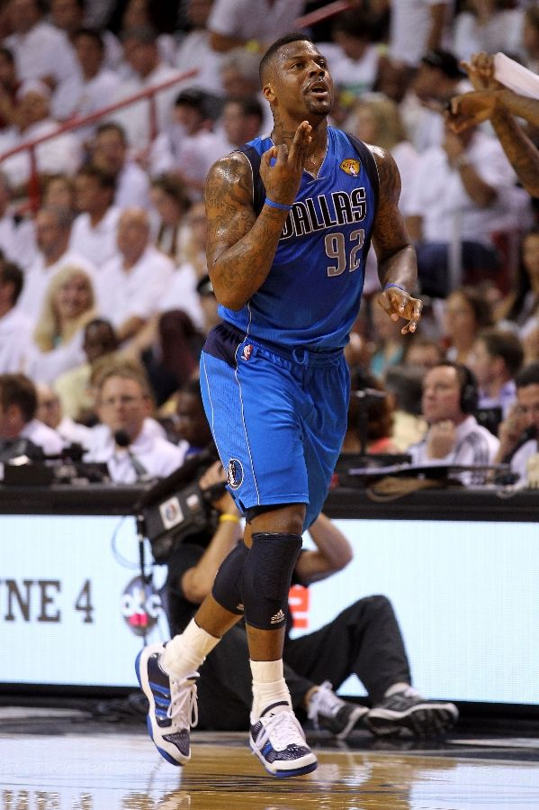 DeShawn Stevenson in the adidas adiPURE.