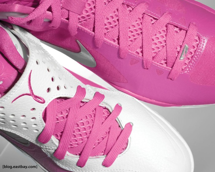 """Kay Yow Nike Hyperdunk 2011 and Nike Zoom Soldier V """"Pinkfire"""""""
