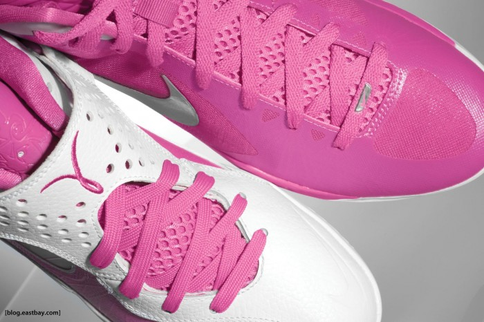 """Kay Yow Nike Hyperdunk 2011 and Nike Zoom Soldier V """"Pinkfire"""" 1800 x 1200"""