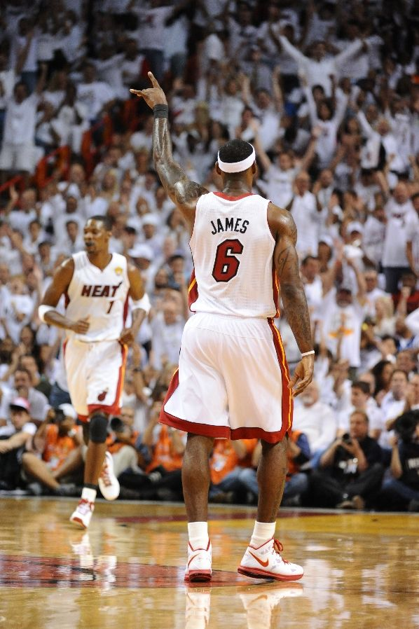 LeBron James in the Nike LeBron 8 PS.