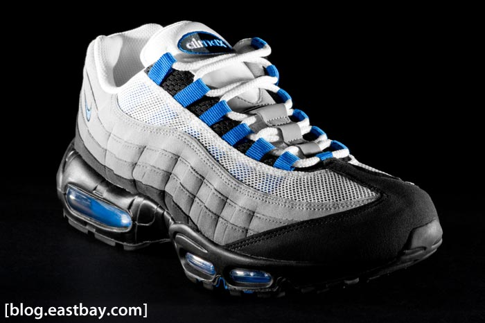 Nike Air Max 95    Blue Spark    Now AvailableNike Air Max 95 Blue Spark